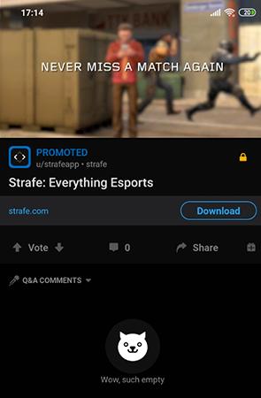 Strafe everything esports